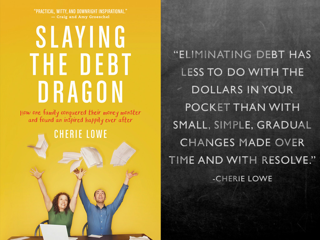 Eliminating debt has less to do with the dollars in your pocket than with small, simple, gradual changes made over time and with resolve.